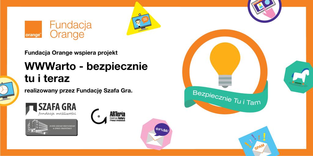 Baner Fundacja Orange + Szafa